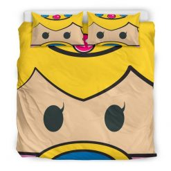 118-BED Mario Cute Face-Duvet Covers - Bedding Sets